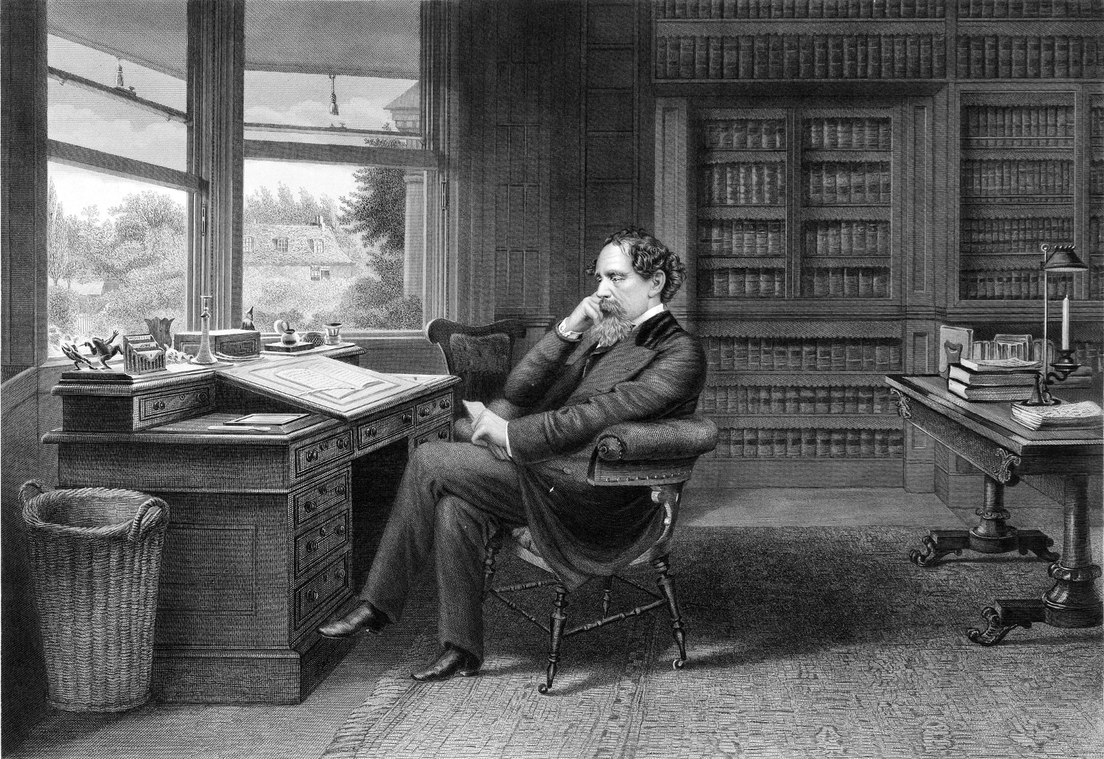 how many novels did charles dickens write