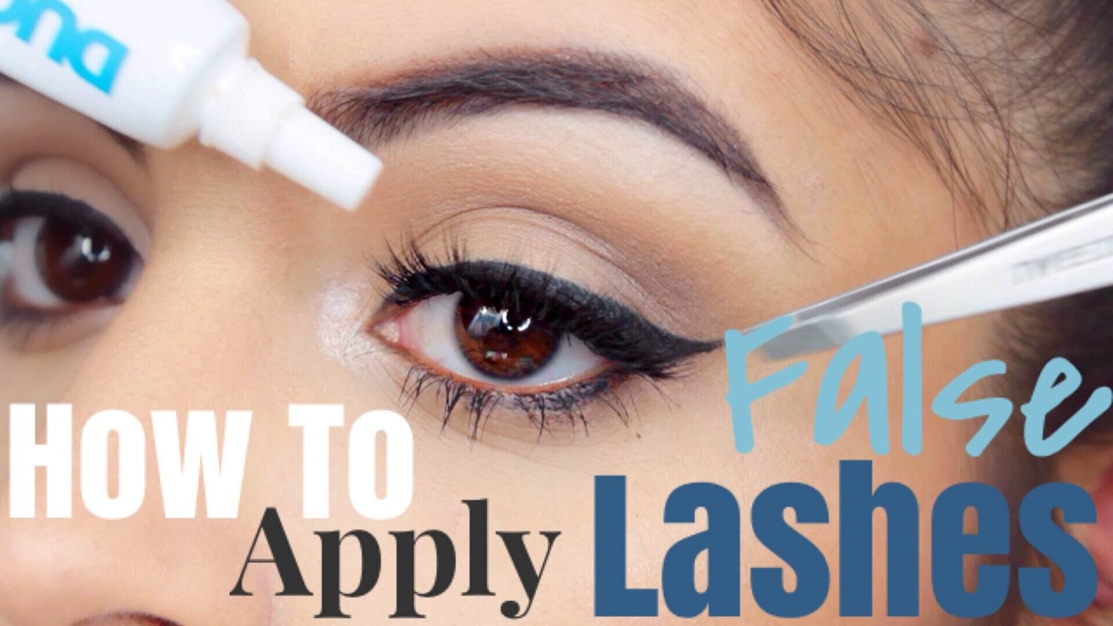 How To Apply False Eyelashes Perfectly A Beginners Guide To Eye Makeup