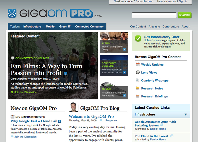 Gigaom: The Life and Death of a Venture Funded Media Startup