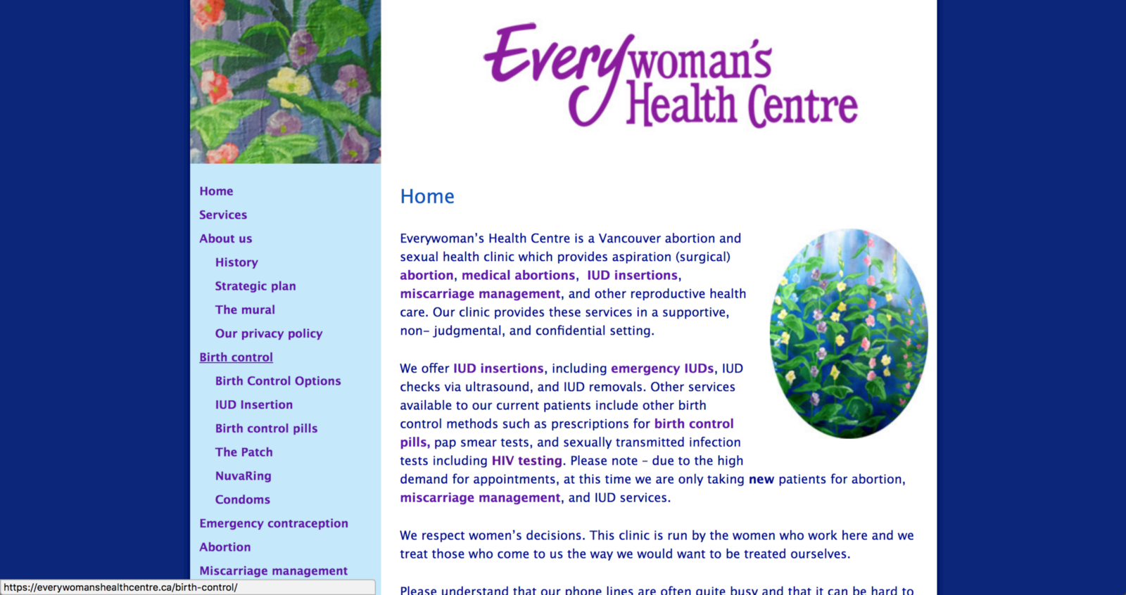 Womens sexual health clinic vancouver