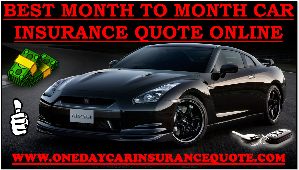 1 Month Car Insurance Cost In Usa With Cheap Rates Online