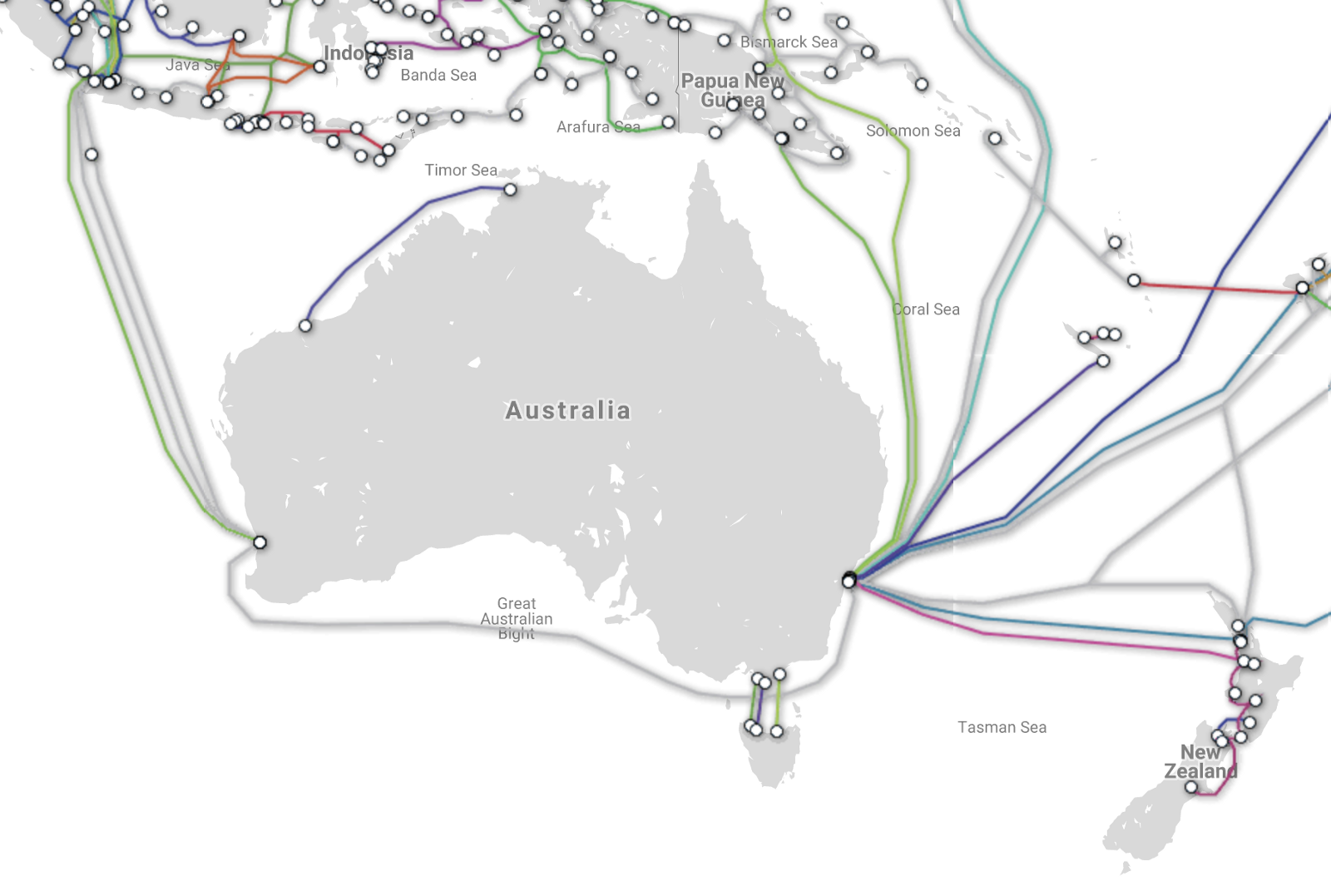Watching The World Cup On Nbn Bryan Jordan Medium Home Wiring Diagram This Is How Australia Receives Their Internet Today Though Huge Underwater Cables Connecting Country
