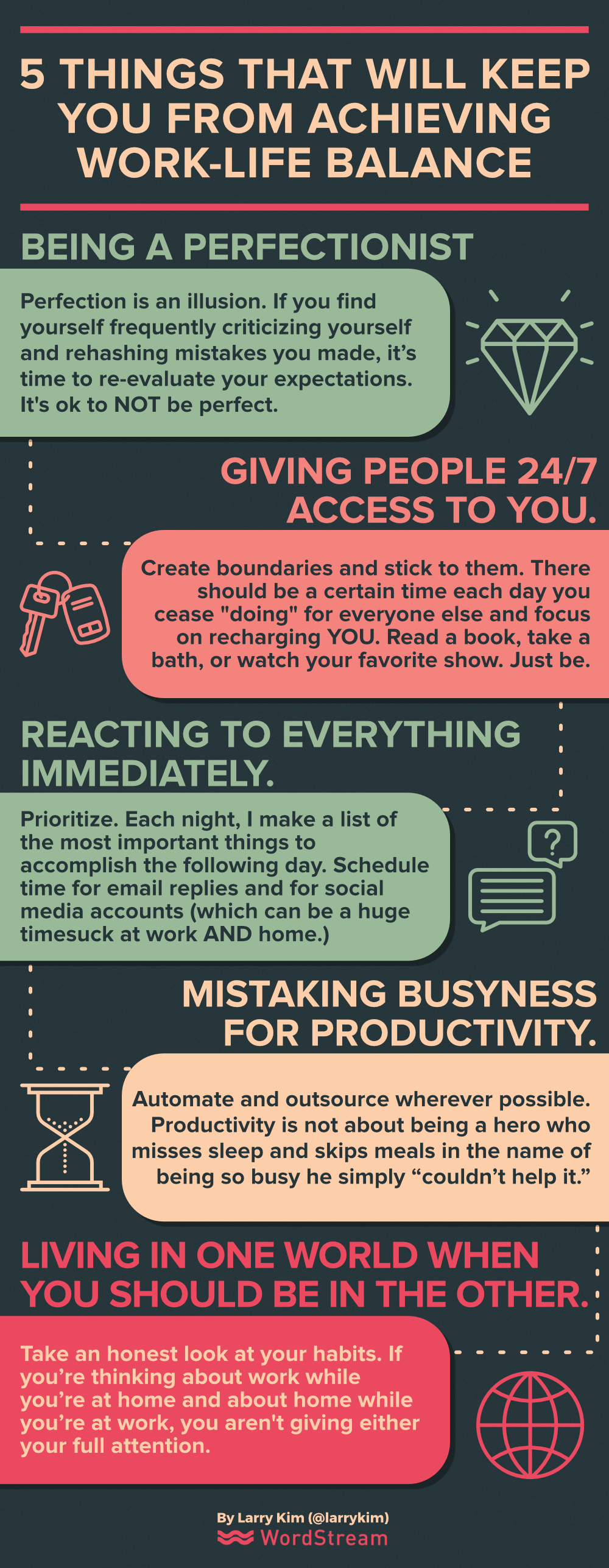 5 Things That Will Keep You from Achieving Work-Life Balance