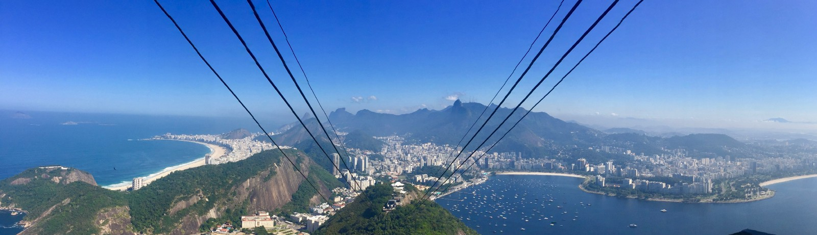 Girl not from ipanema goes walking in ipanema audrey flower view of rio from the cable car at sugarloaf m4hsunfo