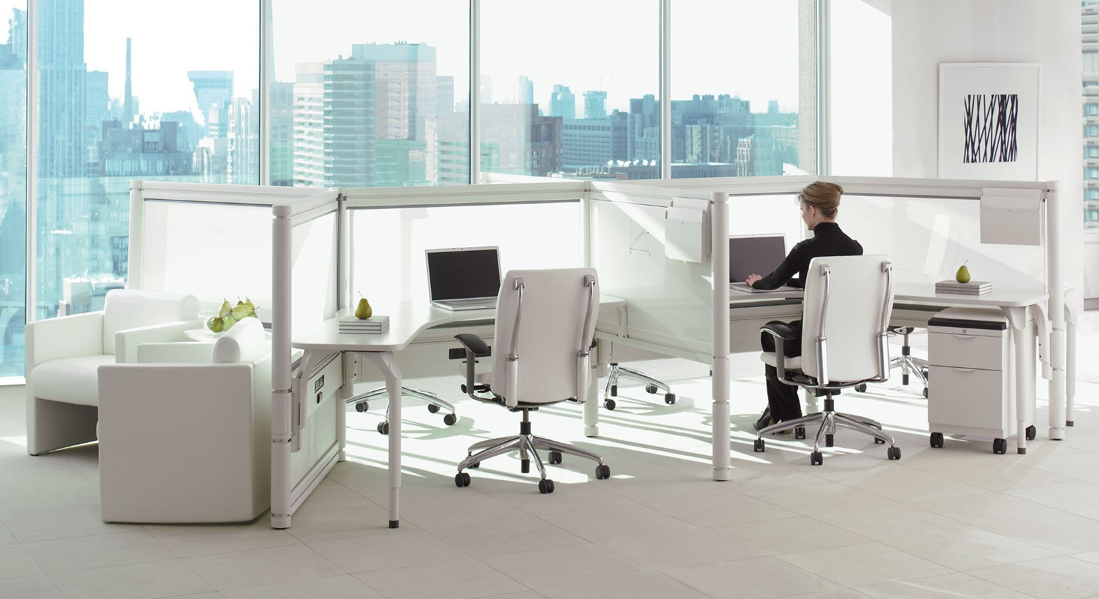 I.e Desk Furniture System By Teknion