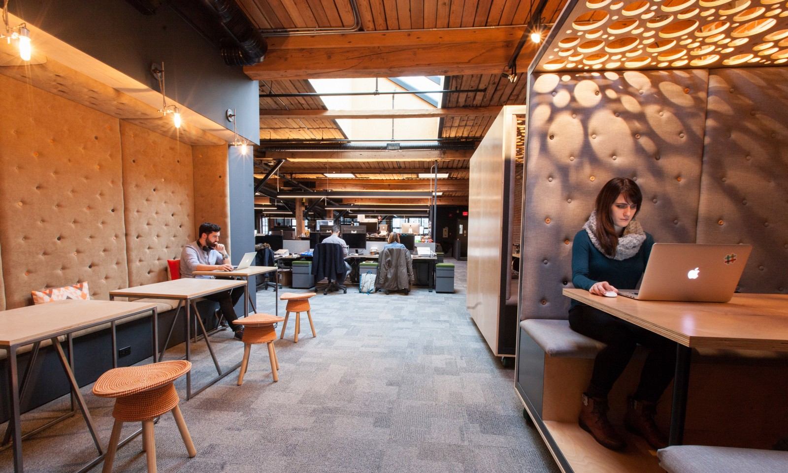 Slacks Vancouver Office And Its Rolling Rooms