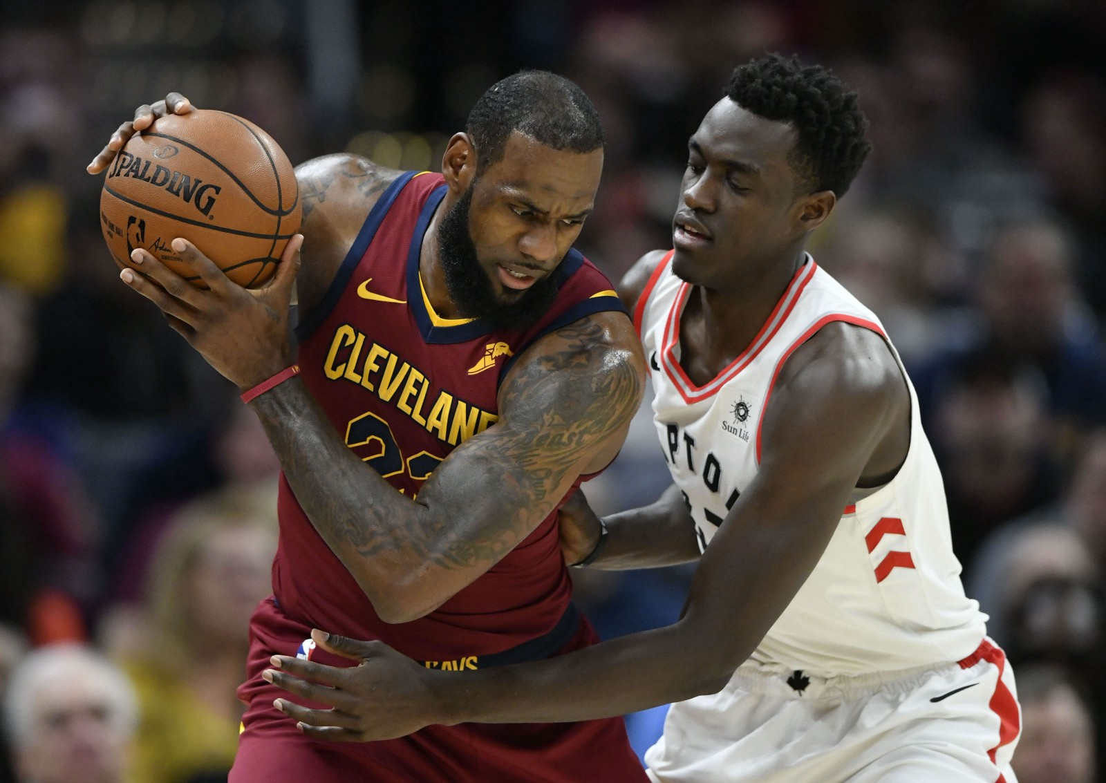 f823f236e095 This was the first real glimpse of what a playoff series between the  Cleveland Cavaliers and Toronto Raptors would look like in this current  iteration of ...