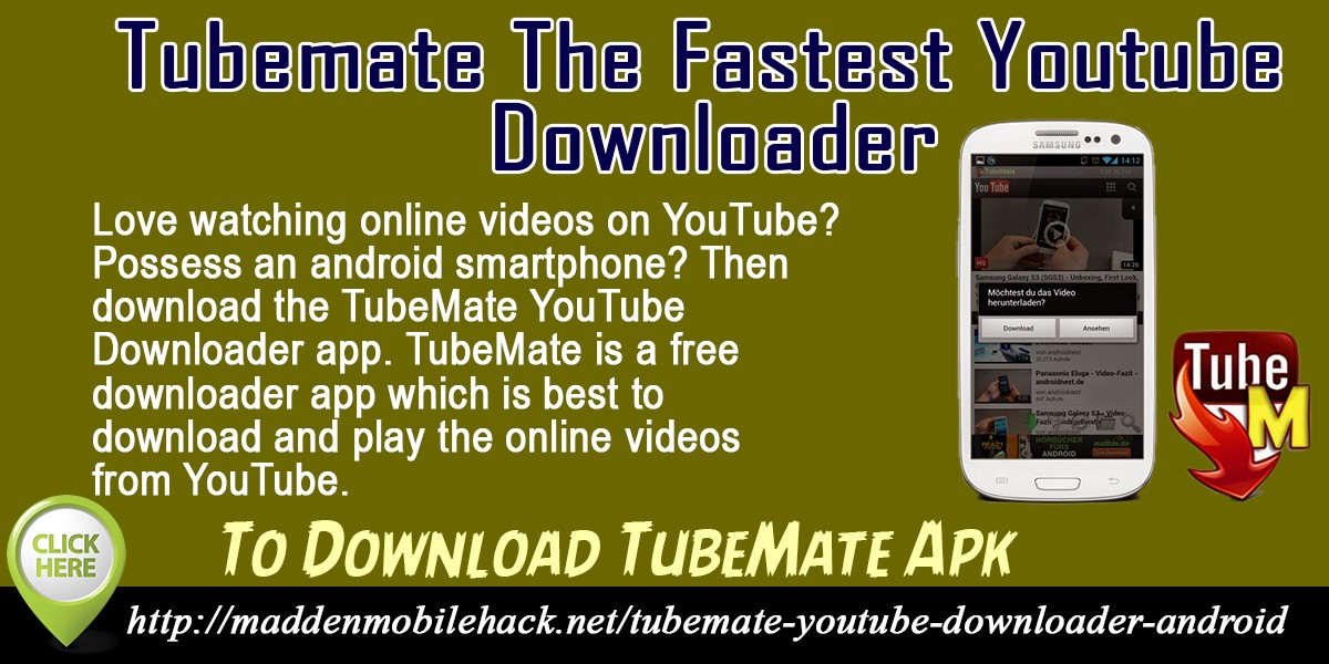 Tubemate 2 2 9 download apk here | TubeMate Download Free