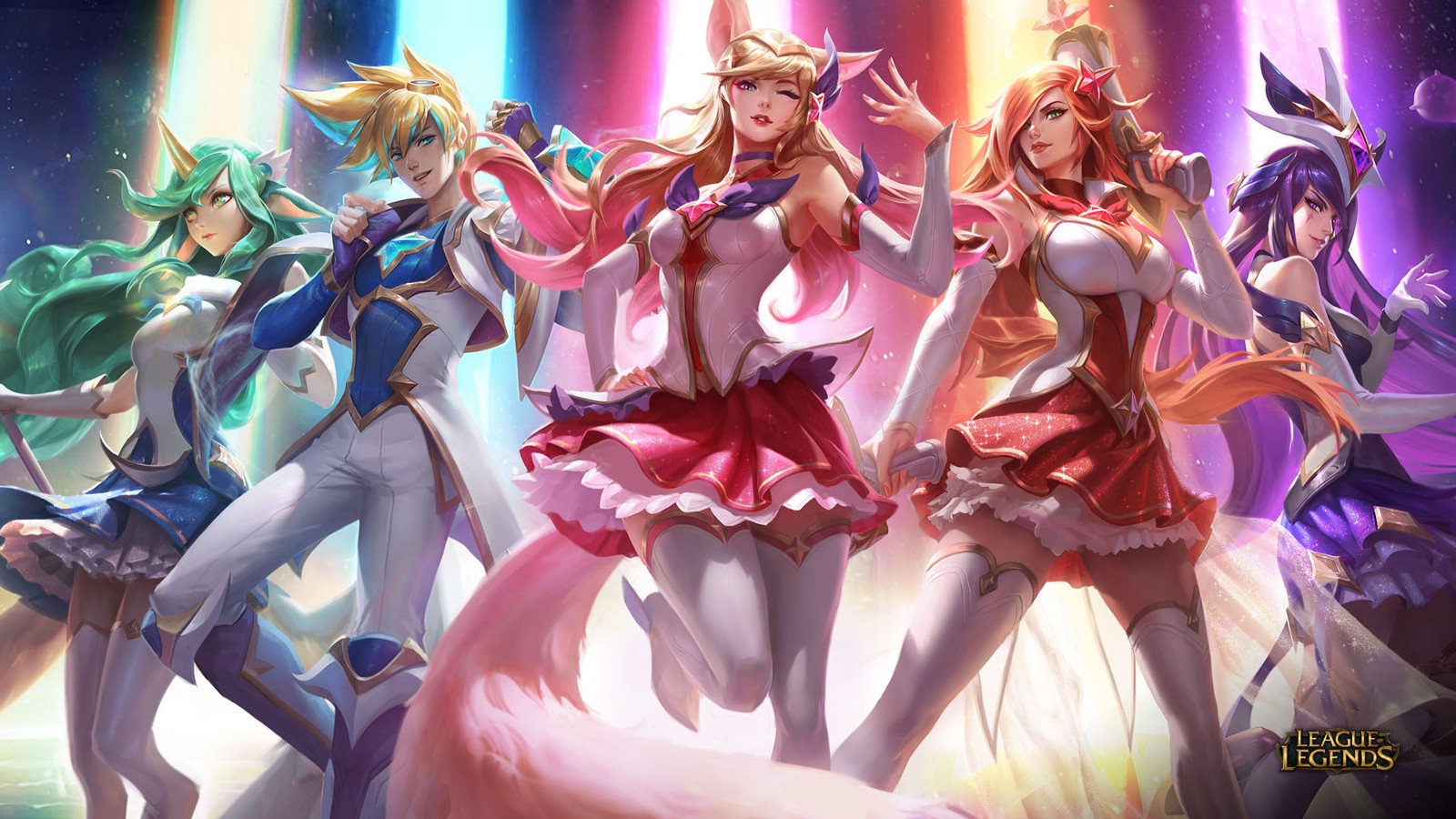 Le Club Esports Gameward: League Of Legends: Star Guardian Skins Now Available
