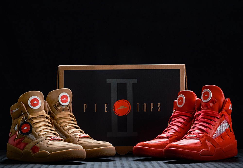 4dece6697a05 Pizza Hut s  Pie Tops II  Sneakers Can Pause Your TV While Order A Pizza