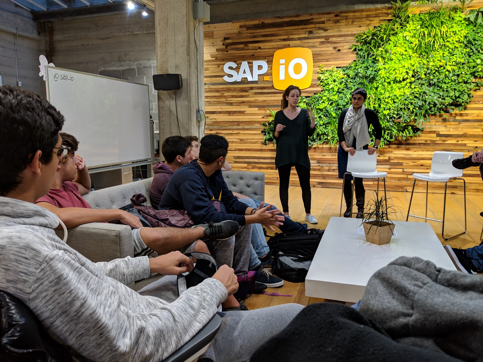 Shuchi Rana, head of the SAP San Francisco accelerator, explaining why large companies like SAP need to reinvent themselves by partnering with entrepreneurs and startups
