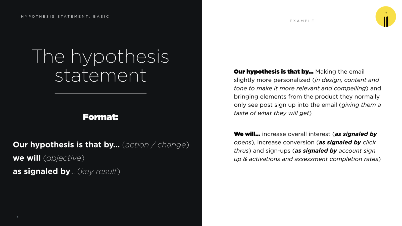 how to write a hypothesis statement chaz mee medium