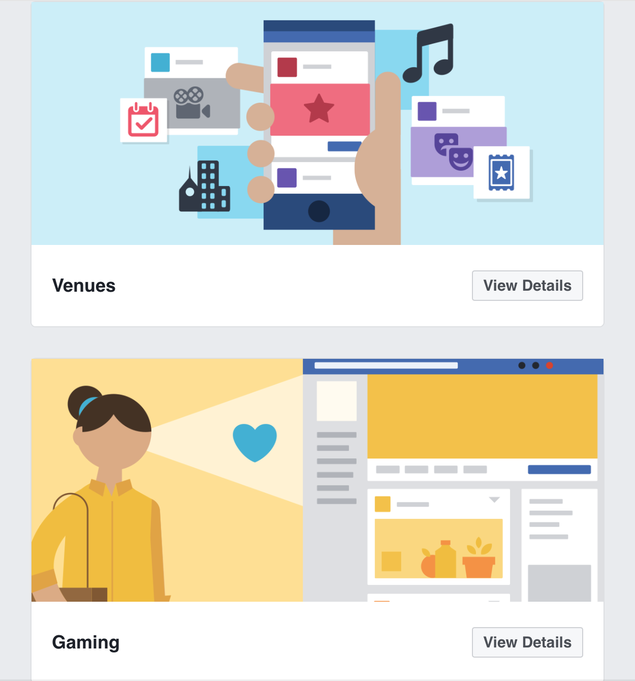 Facebook business page template blog 2018