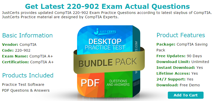 Up-to-Date CompTIA 220-902 Exam Questions for Guaranteed Success