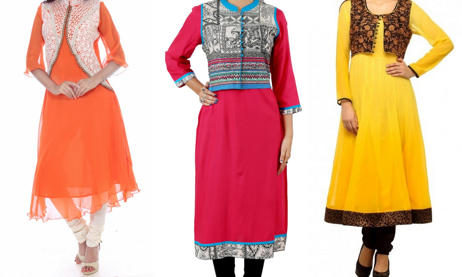 5 Trending Styles Of Women Kurtis To Flaunt This Spring Season 2016