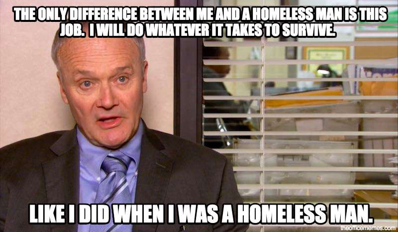 Creed Quotes Fair 5 Creed Bratton Quotes That Will Weird You Out But Also Make You
