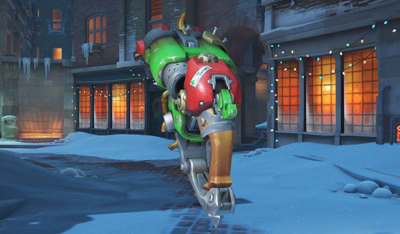 Three Subtle Details You Missed in the Overwatch Holiday Sprays