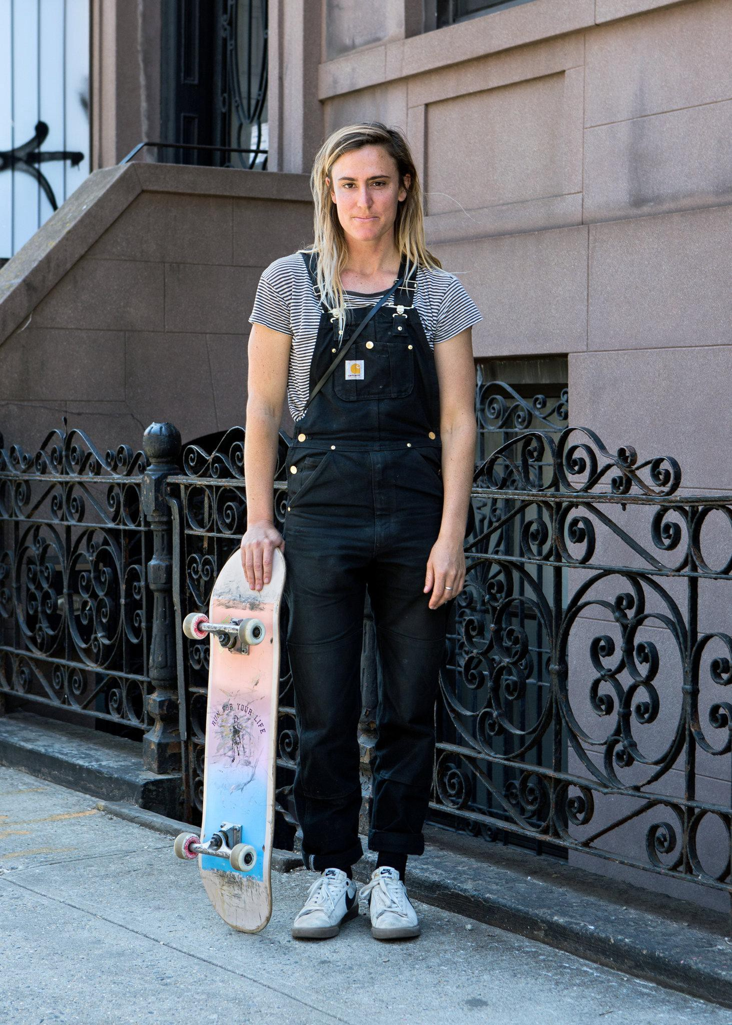 32c100d7a54fd8 Sara Taylor was photographed for a New York Times article on skate fashion.