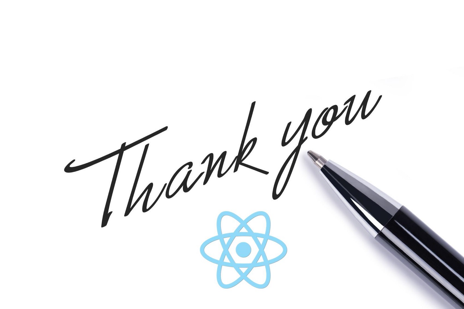 dear react a thank you letter