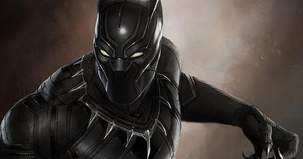 NEW BLACK PANTHER MOVIE LOGO IS HERE AND IT CAN'T GET MORE ...
