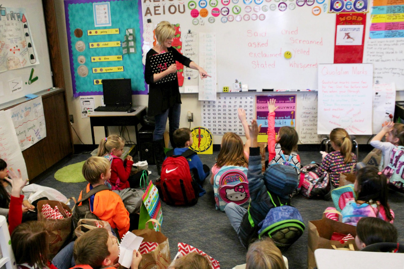 Elementary Classrooms Of The Future : Welome to the future creston news advertiser