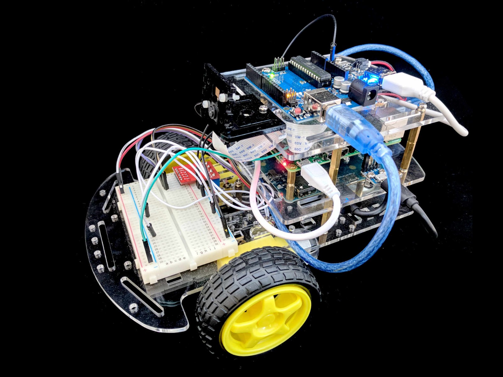 Ros opencv robot kit for makers hacker noon