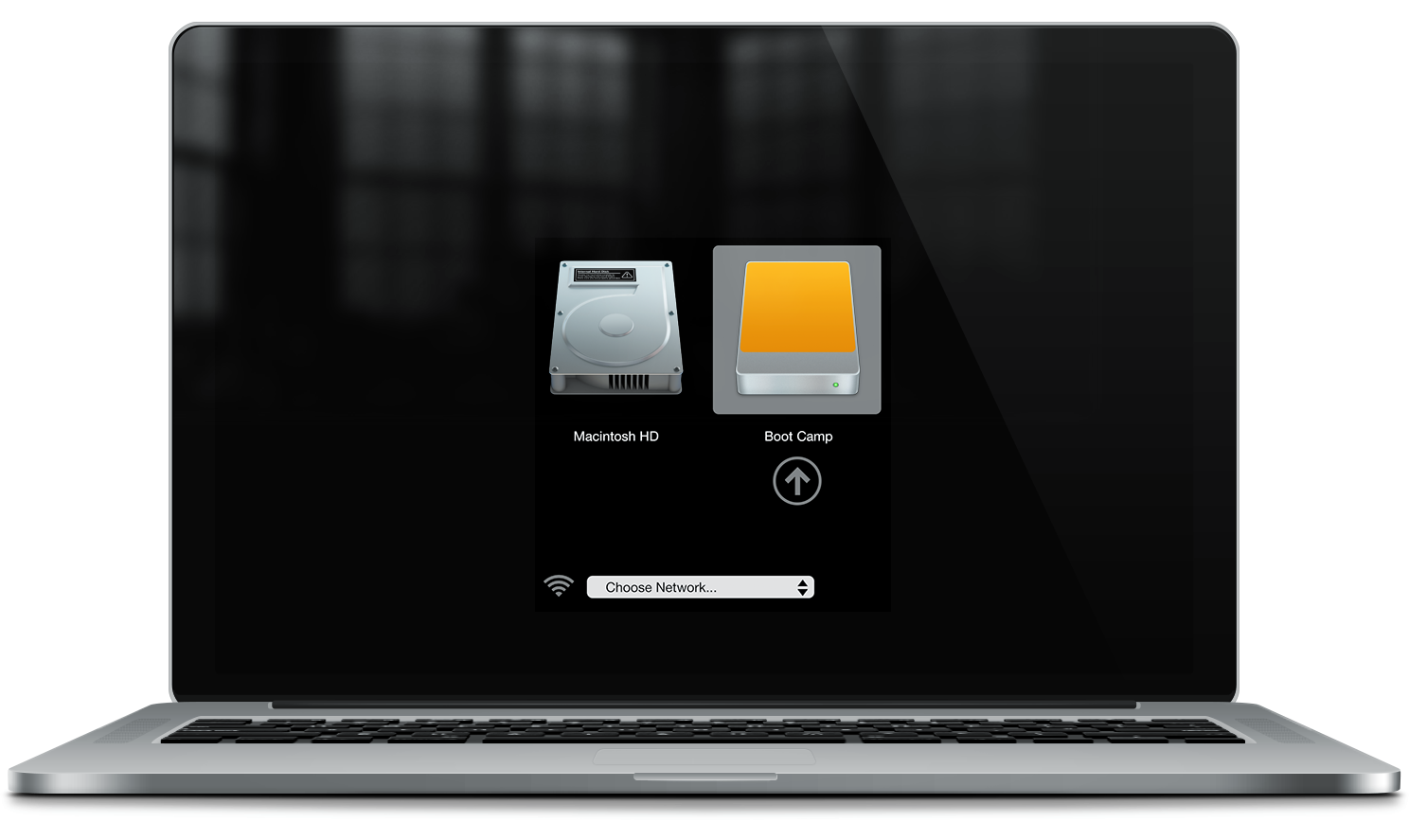 how to install windows 10 boot camp external ssd