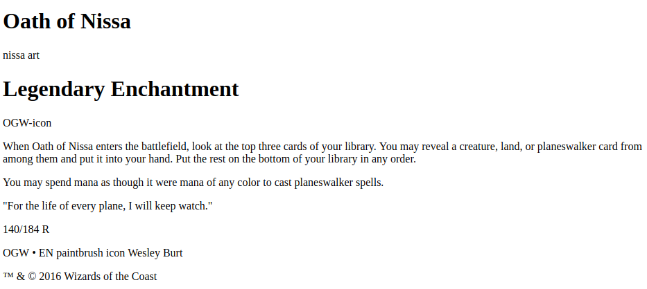 Make A Magic The Gathering Card In Css Codeburst