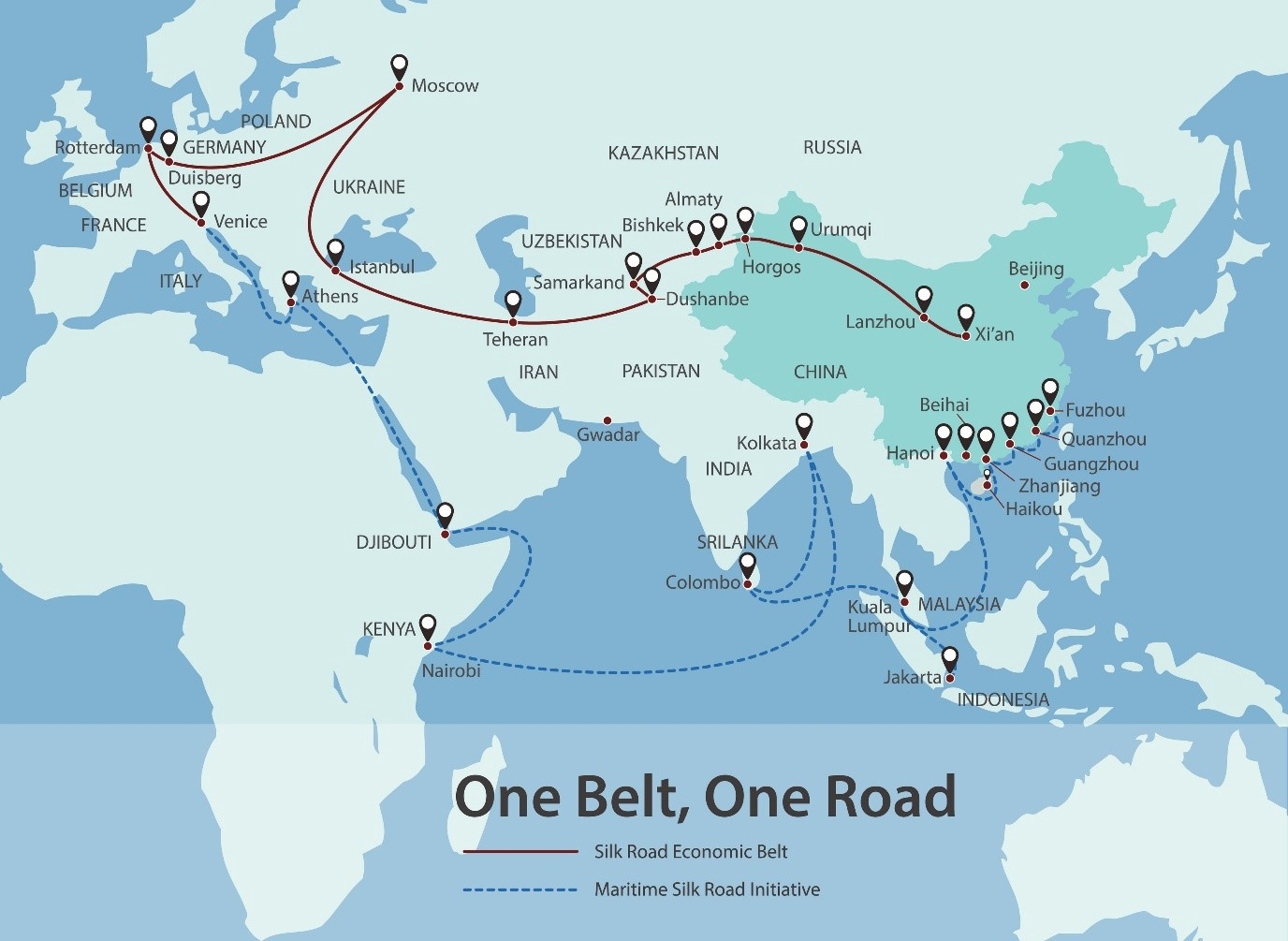 The impact of the Belt and Road initiative on the identity ...
