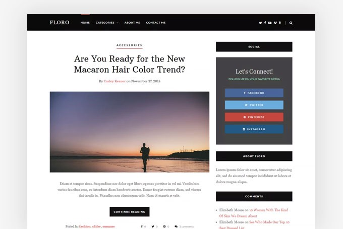 15+ Latest Free WordPress Themes for Blogs and Magazines of 2018