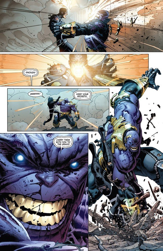 Could Thanos Defeat The All Father Odin Thaddeus Howze Medium