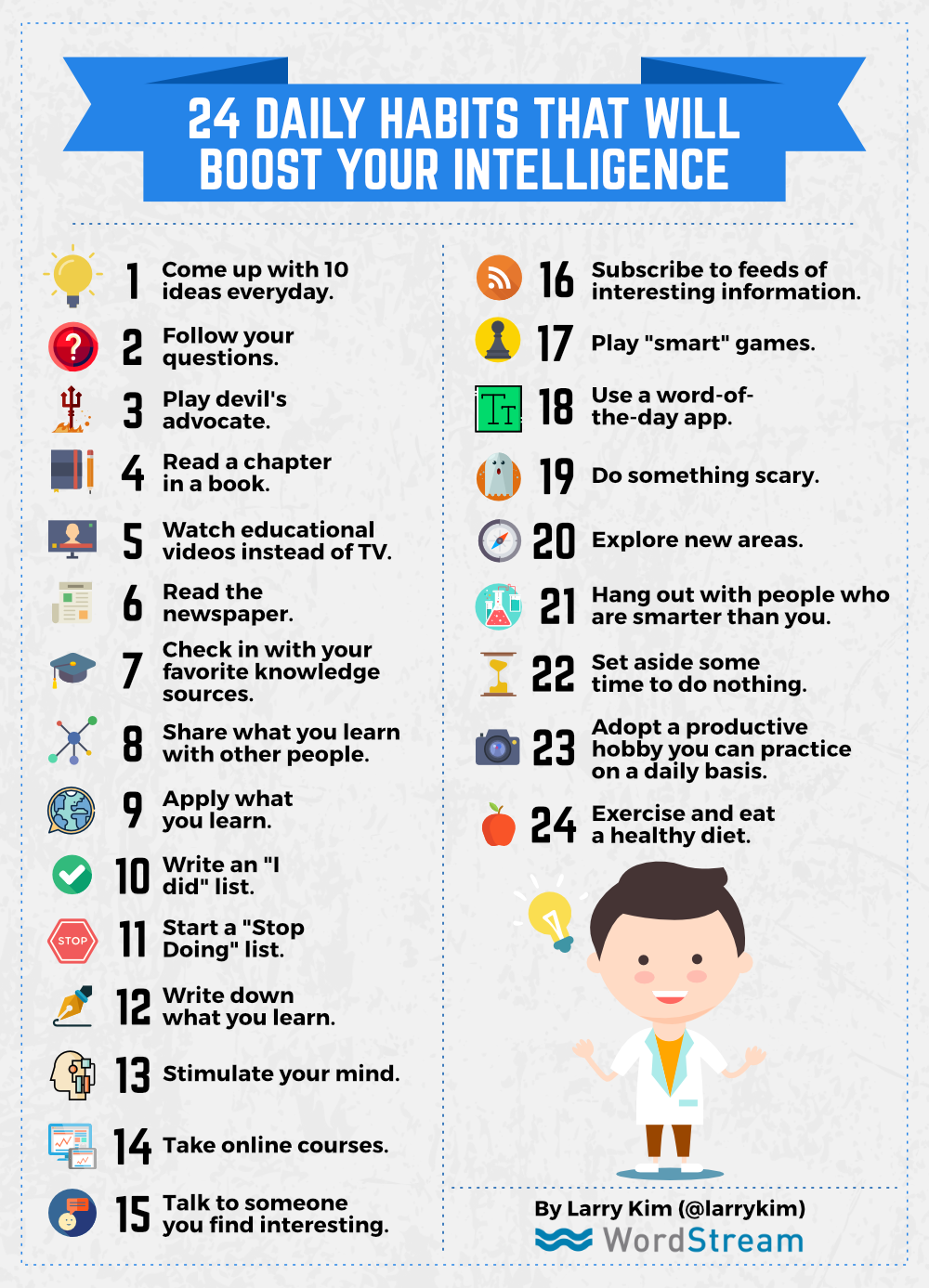 24 Daily Habits That Will Boost Your Intelligence
