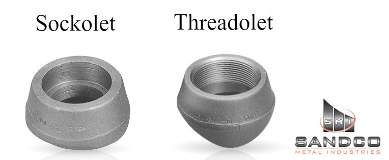 Difference between sockolet and threadolet olet fittings