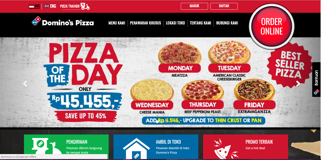 domino's sizzles with pizza tracker Essay domino's sizzles with pizza tracker session: organizations domino's sizzles with pizza tracker when it comes to pizza, everyone has an opin ion.