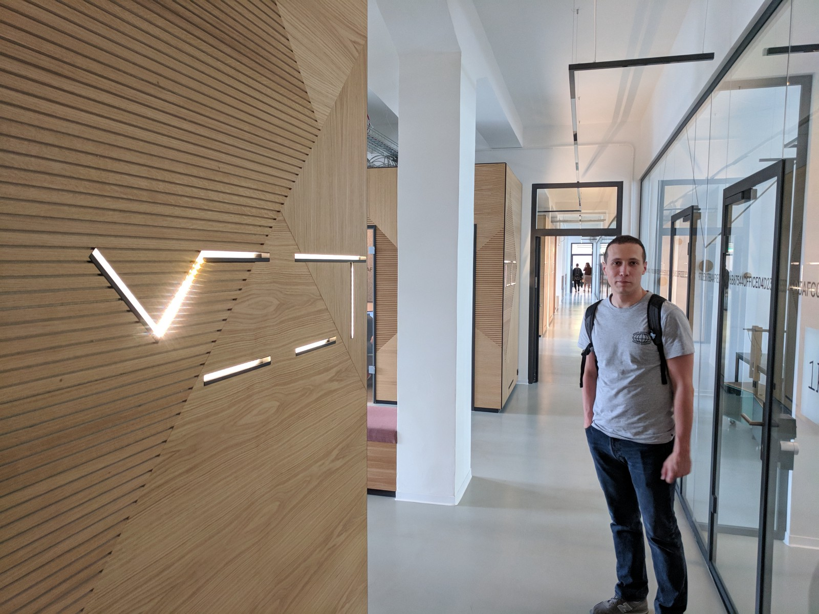 the place looks exactly like a hub for high tech companies should