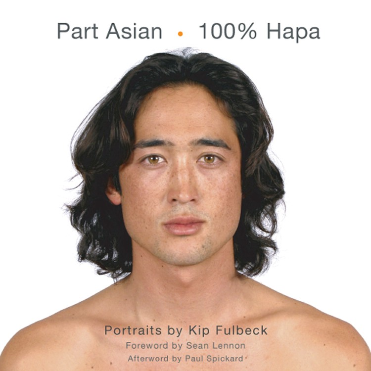 Asian man mixed with whites