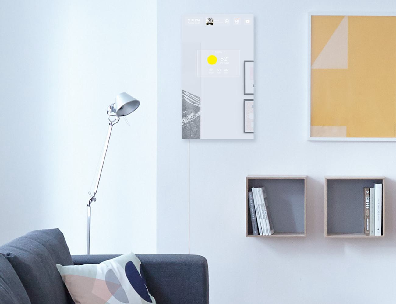 This Incredible System Responds To Your Touch As Well Voice Control Home And Media In Addition Reflection