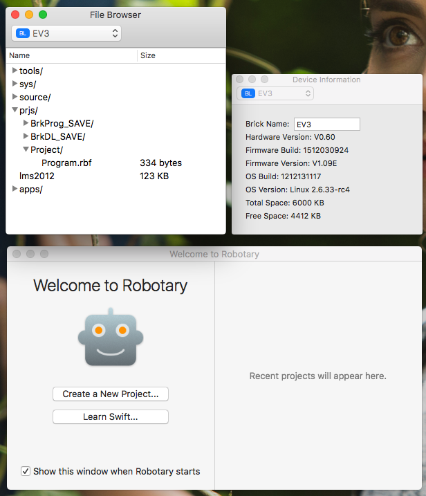 Create Lego Mindstorms Robots with Swift — Robotary Review