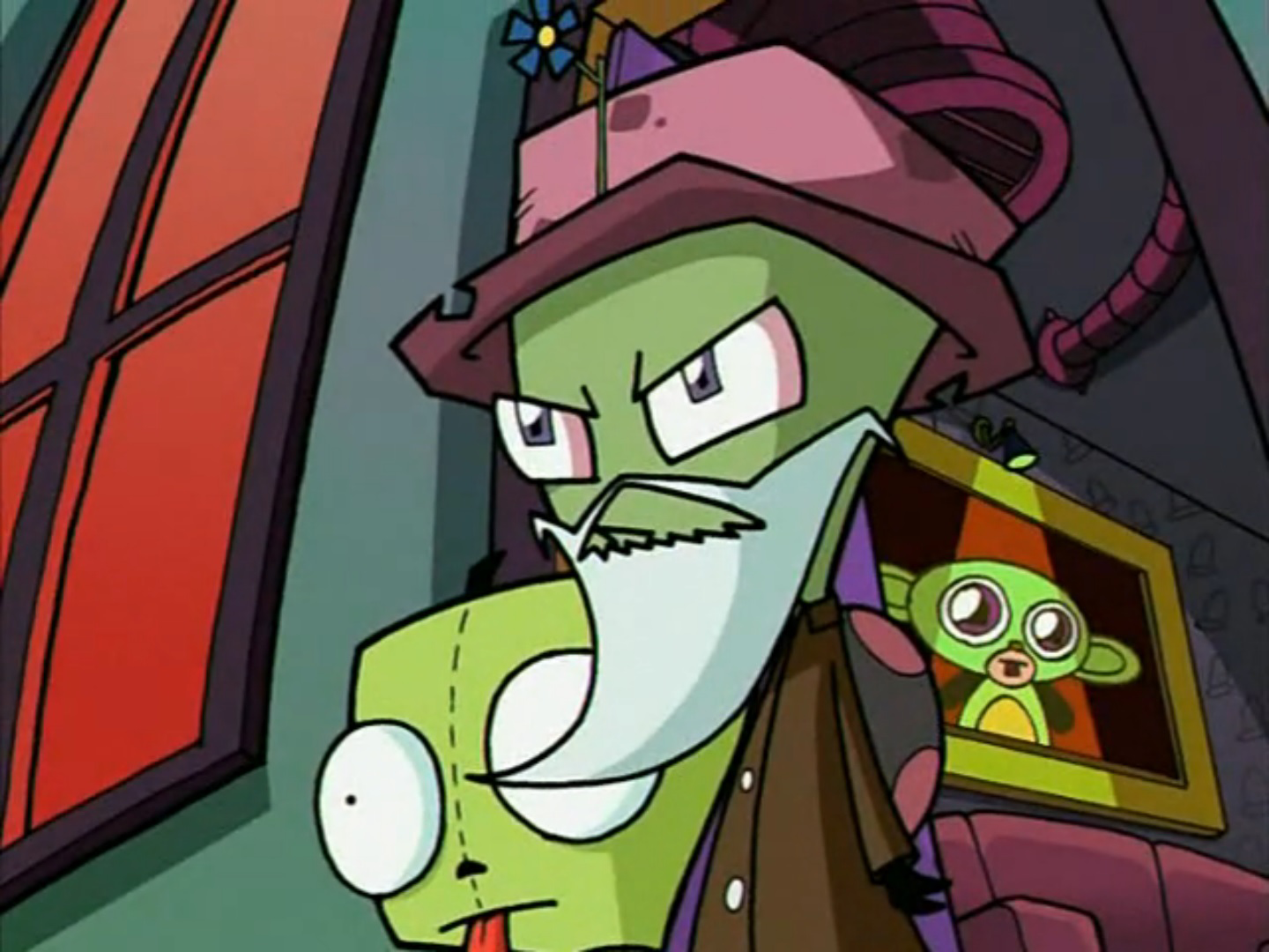 How Invader Zim Navigated The World Of Human Disguise