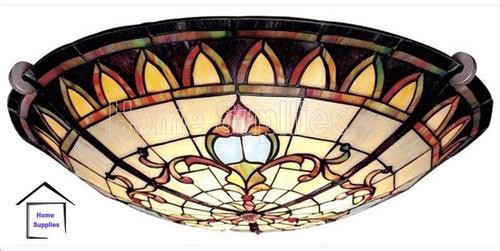 Visit To Purchase Tiffany Style Flush Ceiling Light