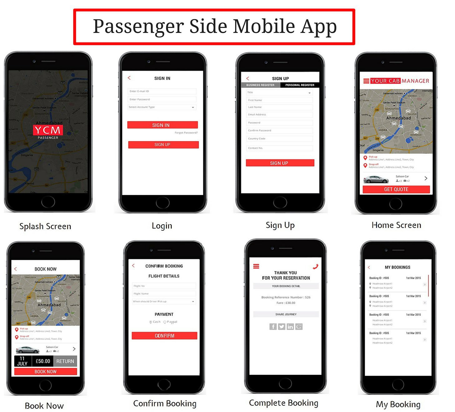 Image Result For Codecanyon Taxi Booking App