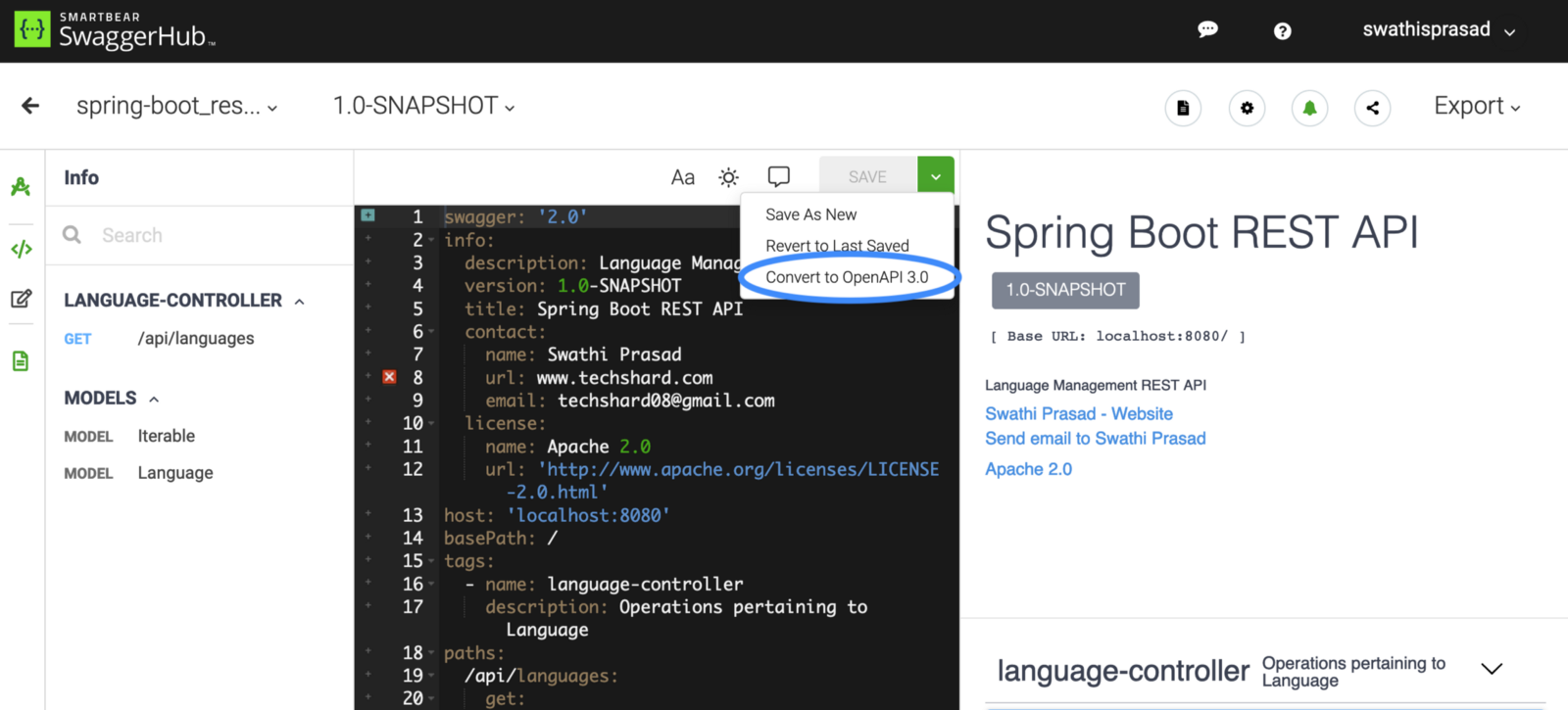 Generating and Consuming REST APIs With Spring Boot 2, Angular 7