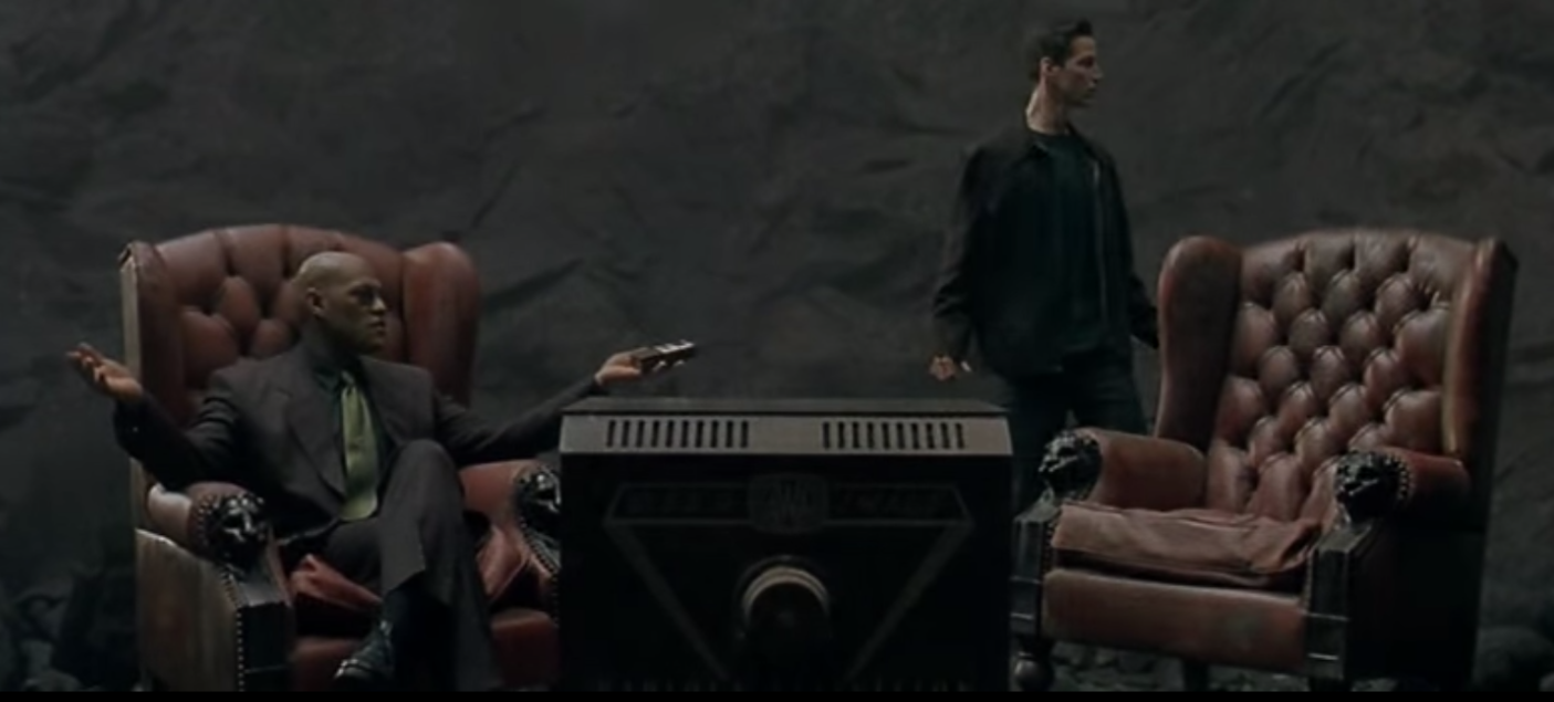 The Matrix Plot That Should Have Been Mark Nutter Medium Neo Trinity My Amplifier In Fact You Could Even Keep All Convoluted Devices I Complained About Earlier Morpheus Spews Out And Treat Them As Lies Hes Feeding To