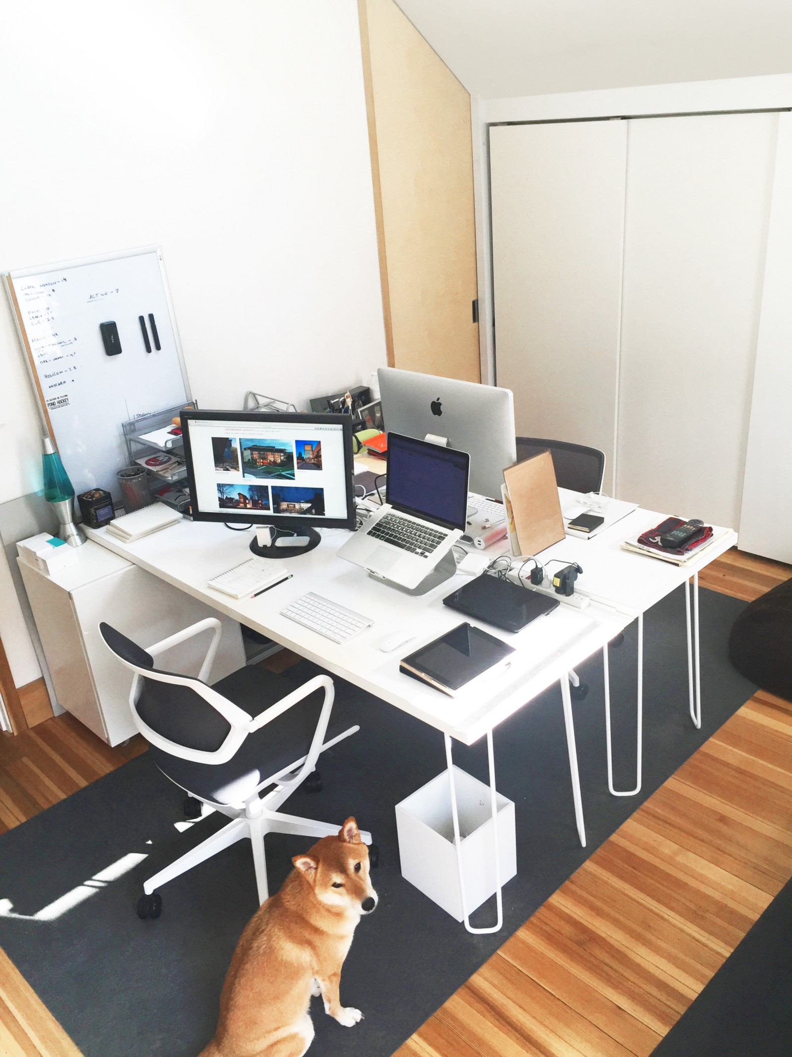 setting up your office