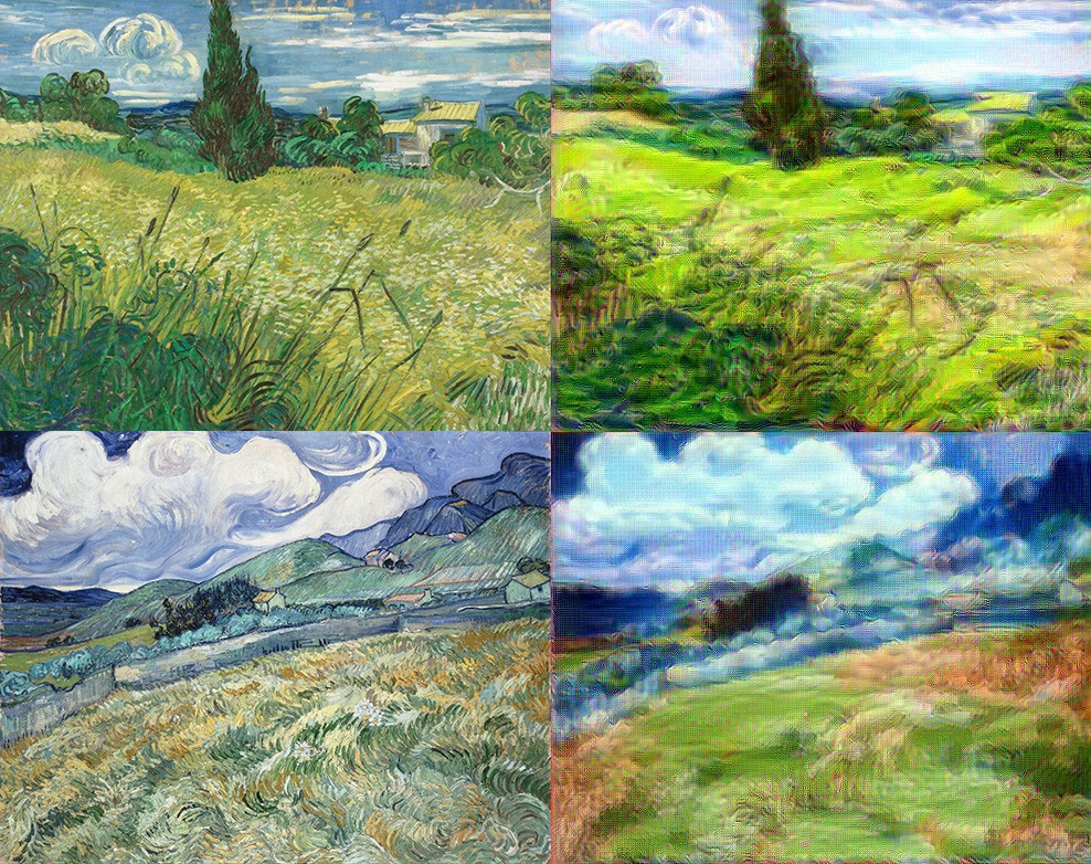 wheat field with cypresses essay