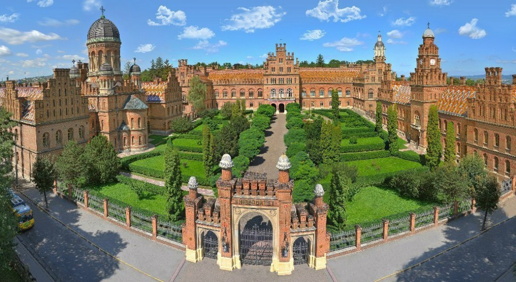 Situated In Ukraine The University Looks More Like Hogwarts Or Some Ancient Palace Than A Place To Study Though It Really Used Be