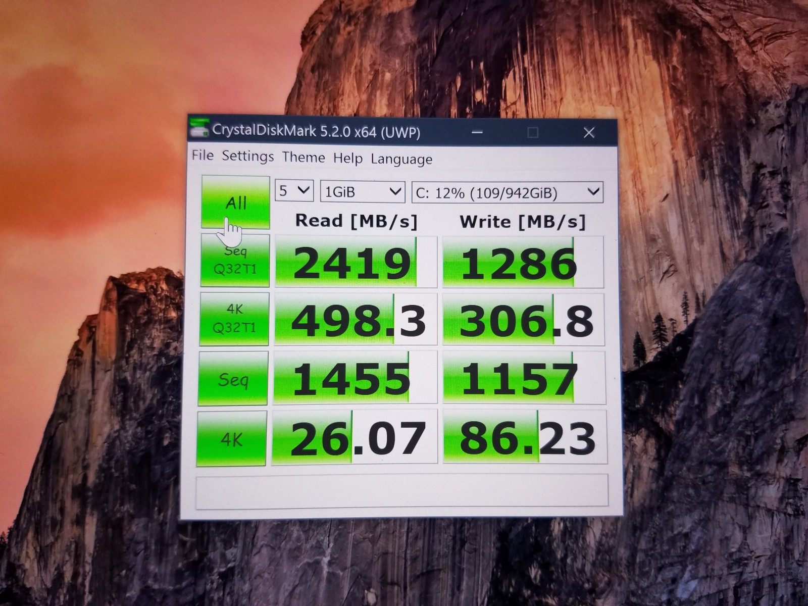 How To Upgrade A Dell Xps 15 9550 Samsung 960 Evo Nvme M2 Ssd Toshiba 1600 Xp Wiring Diagram Real World Crystaldiskmark 520 X64 Result With Thnsn51t02du7