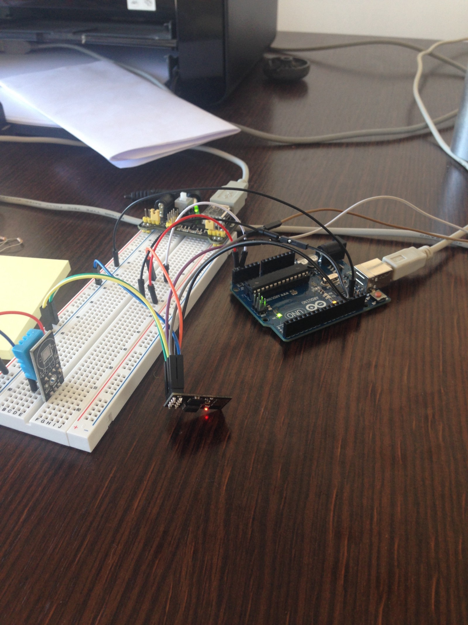 Arduino Esp8266 Through I2c Kruk Matias Medium Wiring Mega Uno Slave And Esp826601 Master