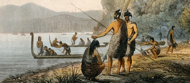 Maori Natives: New Zealand Thoughts
