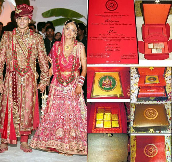 Masti Fame Vivek Oberoi Married To Priyanka Alva Their Wedding Invitation Is Said Be One Of The Expensive Cards In History Bollywood